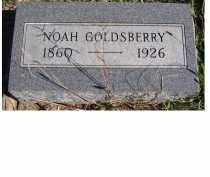 GOLDSBERRY, NOAH - Adams County, Ohio | NOAH GOLDSBERRY - Ohio Gravestone Photos