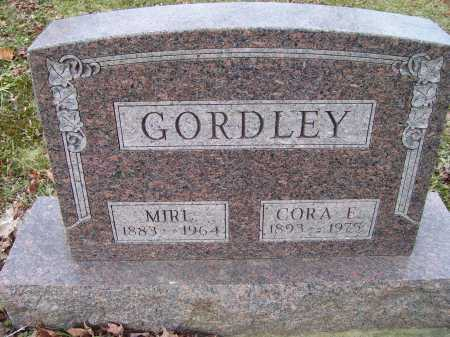GORDLEY, MIRL - Adams County, Ohio | MIRL GORDLEY - Ohio Gravestone Photos