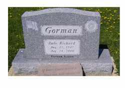 GORMAN, DALE RICHARD - Adams County, Ohio | DALE RICHARD GORMAN - Ohio Gravestone Photos