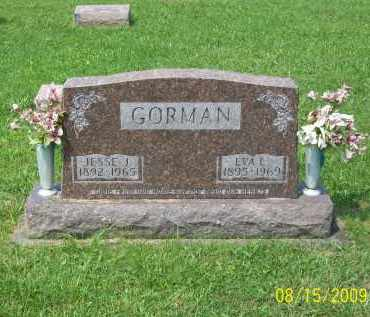 GORMAN, EVA L - Adams County, Ohio | EVA L GORMAN - Ohio Gravestone Photos