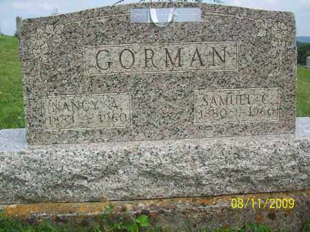 COPAS GORMAN, NANCY A - Adams County, Ohio | NANCY A COPAS GORMAN - Ohio Gravestone Photos