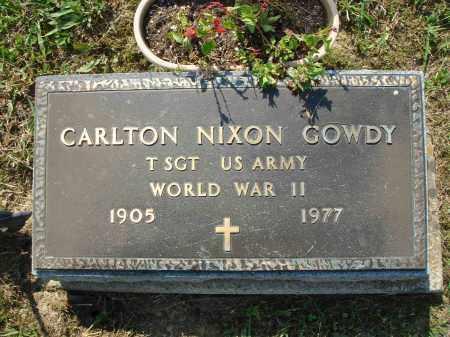 GOWDY, CARLTON NIXON - Adams County, Ohio | CARLTON NIXON GOWDY - Ohio Gravestone Photos