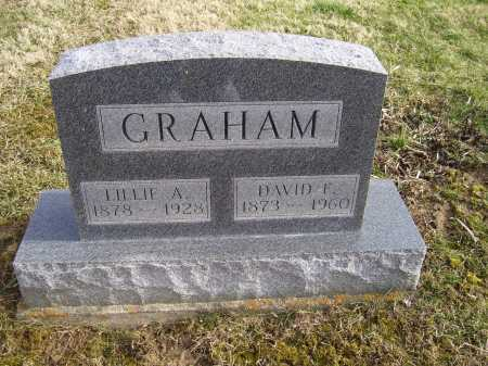 GRAHAM, LILLIE A. - Adams County, Ohio | LILLIE A. GRAHAM - Ohio Gravestone Photos