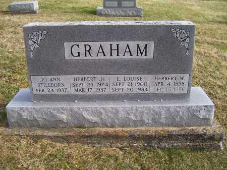 GRAHAM, E. LOUISE - Adams County, Ohio | E. LOUISE GRAHAM - Ohio Gravestone Photos