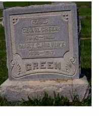 GREEN, GEO. W. - Adams County, Ohio | GEO. W. GREEN - Ohio Gravestone Photos