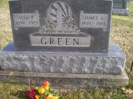 GREEN, ALVA P. - Adams County, Ohio | ALVA P. GREEN - Ohio Gravestone Photos