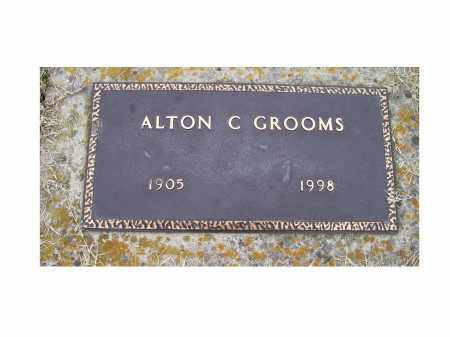 GROOMS, ALTON C. - Adams County, Ohio | ALTON C. GROOMS - Ohio Gravestone Photos
