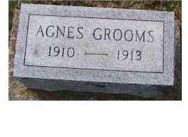 GROOMS, AGNES - Adams County, Ohio | AGNES GROOMS - Ohio Gravestone Photos