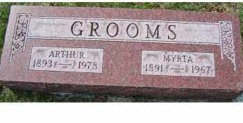 GROOMS, MYRTA - Adams County, Ohio | MYRTA GROOMS - Ohio Gravestone Photos