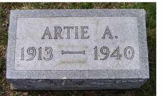 GROOMS, ARTIE A. - Adams County, Ohio | ARTIE A. GROOMS - Ohio Gravestone Photos