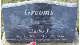 GROOMS, CHARLES T. - Adams County, Ohio | CHARLES T. GROOMS - Ohio Gravestone Photos
