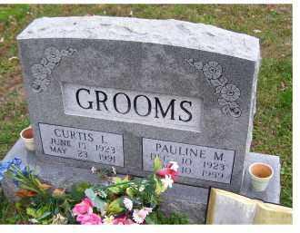 GROOMS, PAULINE M. - Adams County, Ohio | PAULINE M. GROOMS - Ohio Gravestone Photos