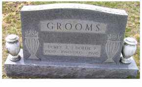 GROOMS, DOLLIE P. - Adams County, Ohio | DOLLIE P. GROOMS - Ohio Gravestone Photos