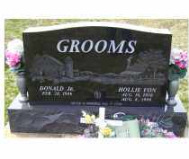 GROOMS, HOLLIE VON - Adams County, Ohio | HOLLIE VON GROOMS - Ohio Gravestone Photos