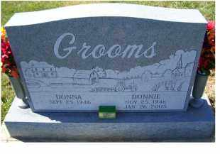 GROOMS, DONNIE - Adams County, Ohio | DONNIE GROOMS - Ohio Gravestone Photos