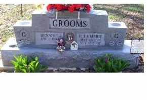 GROOMS, ELLA MARIE - Adams County, Ohio | ELLA MARIE GROOMS - Ohio Gravestone Photos