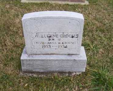GROOMS, E. EUGENE - Adams County, Ohio | E. EUGENE GROOMS - Ohio Gravestone Photos