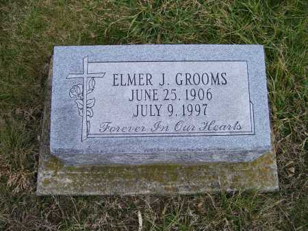 GROOMS, ELMER J. - Adams County, Ohio | ELMER J. GROOMS - Ohio Gravestone Photos