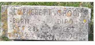 GROOMS, EVERERETT - Adams County, Ohio   EVERERETT GROOMS - Ohio Gravestone Photos