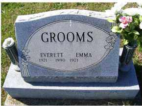 GROOMS, EMMA - Adams County, Ohio | EMMA GROOMS - Ohio Gravestone Photos
