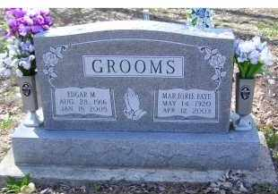 GROOMS, EDGAR M. - Adams County, Ohio | EDGAR M. GROOMS - Ohio Gravestone Photos