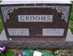 GROOMS, HARRY ELMER - Adams County, Ohio | HARRY ELMER GROOMS - Ohio Gravestone Photos