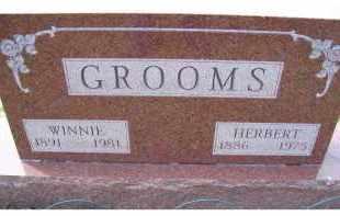GROOMS, WINNIE - Adams County, Ohio | WINNIE GROOMS - Ohio Gravestone Photos