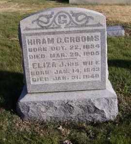 GROOMS, ELIZA J. - Adams County, Ohio | ELIZA J. GROOMS - Ohio Gravestone Photos