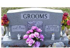 GROOMS, J.H. - Adams County, Ohio | J.H. GROOMS - Ohio Gravestone Photos