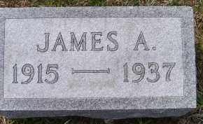 GROOMS, JAMES A. - Adams County, Ohio | JAMES A. GROOMS - Ohio Gravestone Photos