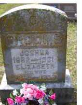 GROOMS, JOSHUA - Adams County, Ohio | JOSHUA GROOMS - Ohio Gravestone Photos
