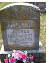 GROOMS, JOSHUA - Adams County, Ohio | JOSHUA GROOMS - Ohio Gravestone Photos