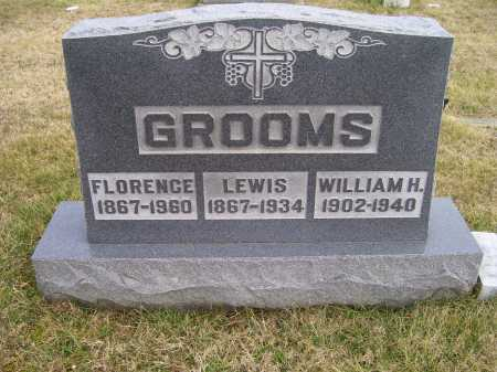 GROOMS, LEWIS - Adams County, Ohio | LEWIS GROOMS - Ohio Gravestone Photos