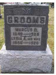 GROOMS, LYDIA A. - Adams County, Ohio | LYDIA A. GROOMS - Ohio Gravestone Photos