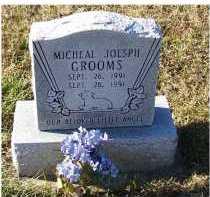 GROOMS, MICHEAL JOSEPH - Adams County, Ohio | MICHEAL JOSEPH GROOMS - Ohio Gravestone Photos