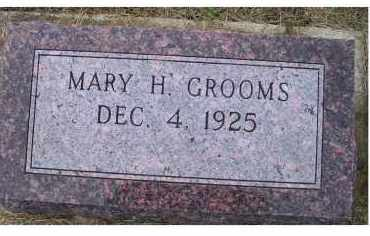 GROOMS, MARY H. - Adams County, Ohio | MARY H. GROOMS - Ohio Gravestone Photos