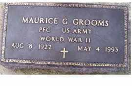 GROOMS, MAURICE G. - Adams County, Ohio | MAURICE G. GROOMS - Ohio Gravestone Photos