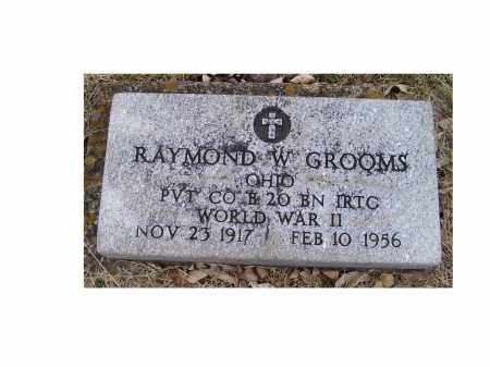 GROOMS, RAYMOND W. - Adams County, Ohio | RAYMOND W. GROOMS - Ohio Gravestone Photos