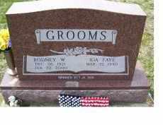 GROOMS, RODNEY W. - Adams County, Ohio | RODNEY W. GROOMS - Ohio Gravestone Photos