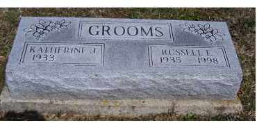 GROOMS, RUSSELL E. - Adams County, Ohio | RUSSELL E. GROOMS - Ohio Gravestone Photos