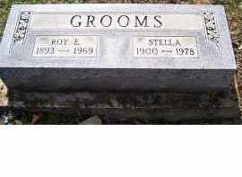 GROOMS, ROY E - Adams County, Ohio | ROY E GROOMS - Ohio Gravestone Photos