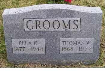 GROOMS, THOMAS W. - Adams County, Ohio | THOMAS W. GROOMS - Ohio Gravestone Photos