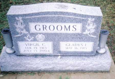 GROOMS, VIRGIL C. - Adams County, Ohio | VIRGIL C. GROOMS - Ohio Gravestone Photos