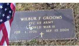 GROOMS, WILBUR F. - Adams County, Ohio | WILBUR F. GROOMS - Ohio Gravestone Photos