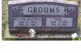 GROOMS, WILLIAM - Adams County, Ohio | WILLIAM GROOMS - Ohio Gravestone Photos