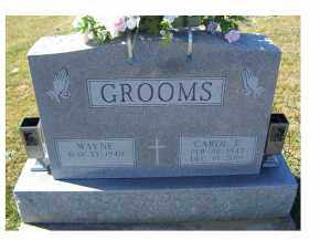 GROOMS, WAYNE - Adams County, Ohio | WAYNE GROOMS - Ohio Gravestone Photos