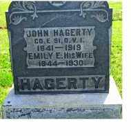 HAGERTY, JOHN - Adams County, Ohio | JOHN HAGERTY - Ohio Gravestone Photos