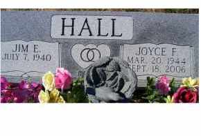 HALL, JOYCE F. - Adams County, Ohio | JOYCE F. HALL - Ohio Gravestone Photos
