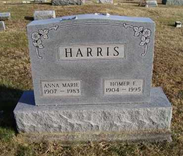HARRIS, HOMER E. - Adams County, Ohio | HOMER E. HARRIS - Ohio Gravestone Photos
