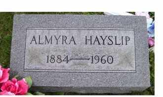 HAYSLIP, ALMYRA - Adams County, Ohio | ALMYRA HAYSLIP - Ohio Gravestone Photos